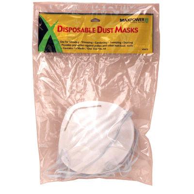 Maxpower 339472 Disposable Dust Masks