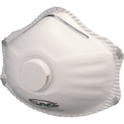 SAS Safety Corporation 8621 R95 Valved Particulate Respirator 10 Count