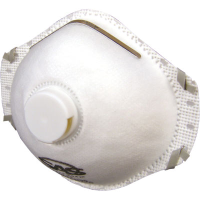 SAS Safety Corporation 8611 N95 Valved ParticulateRespirator 10 Count