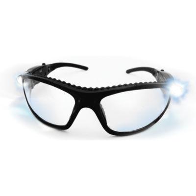 SAS Safety Corporation 5420-50 Polycarbonate LED Inspectors Safety Glasses