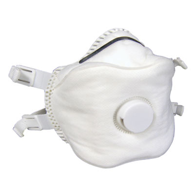 SAS Safety Corporation 8641 P100 Particulate Respirator With Valve 2 Count