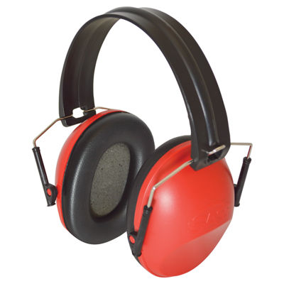 SAS Safety Corporation 6110 Foam Foldable NRR29 Earmuff Hearing Protection