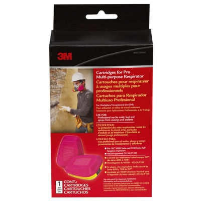 3M 60923HB1-C Cartridges for Pro Multi-Purpose Respirator