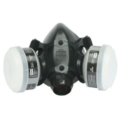 Sperian Safety Wear RWS-54033 Medium Silicone Paint and Pesticide Half Mask Respirator