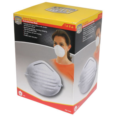 Sperian Safety Wear RWS-54001 Dust & Nuisance Particulate Mask 50 Count