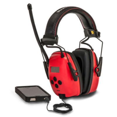 Sperian Safety Wear RWS-53012 AM/FM Sync Earmuff With MP3 Jack