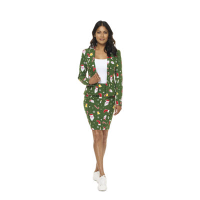 OppoSuits Womens Christmas Suit Santababe