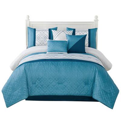 Studio 17 Matrix 7-pc. Comforter Set