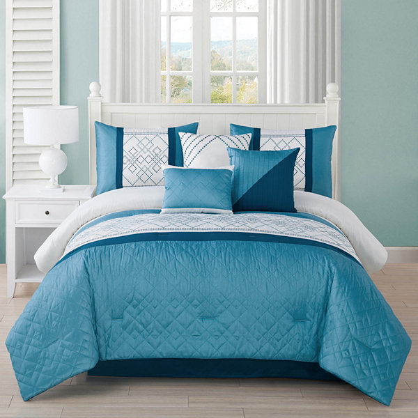 Studio 17 Matrix 7-pc. Comforter Set