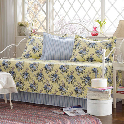 Laura Ashley Linley Yellow Daybed Set