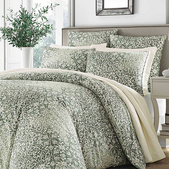 Stone Cottage Abingdon Green Comforter Set