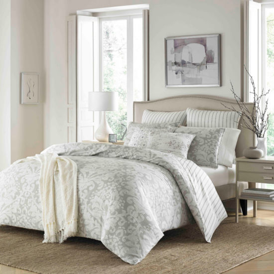 Stone Cottage Camden Gray Duvet Cover Set