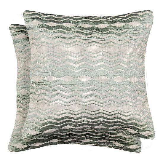 Jasper Square 2 Pack Throw Pillows - 18x18