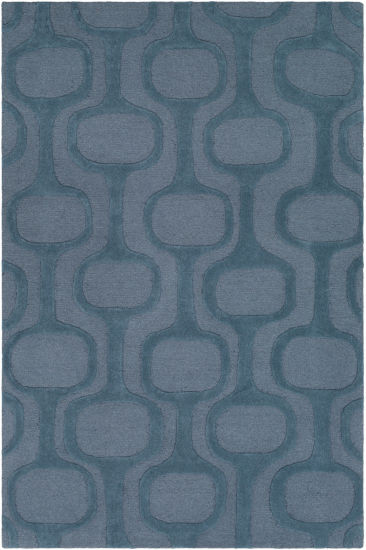 Decor 140 Absolon Blue Geometric Rug