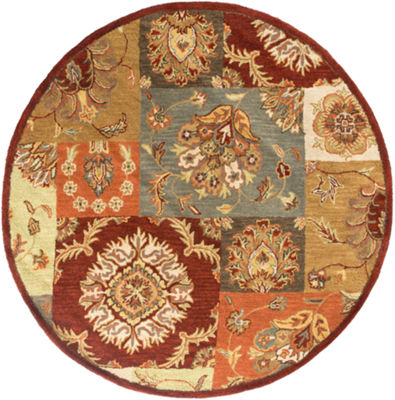 Anahi Multi-Colored Round Rug