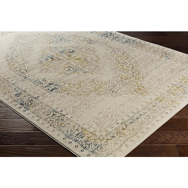 Antionette Cream Medallion Rug