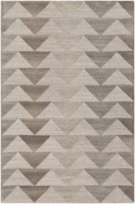 Arlette Gray Geometric Rug