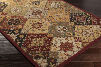Armando Multi-Colored Medallion Rug