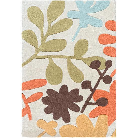 Atriplex Floral Rug