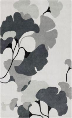 Avicennia Gray Floral Rug