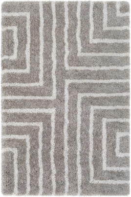 Batteux Neutral Geometric Rug