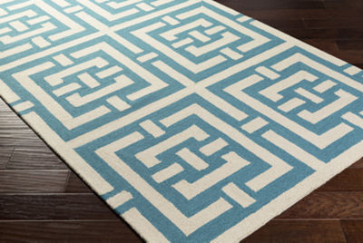Conor Green Geometric Area Rug