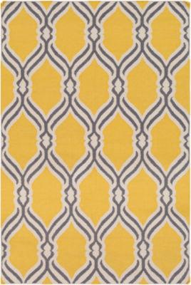 Cyrilla Gray Geometric Rug
