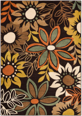 Dayami Floral Area Rug