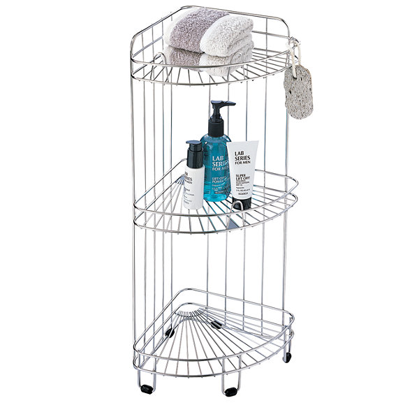 Organize It All 3 Shelf Corner Caddy