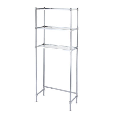 Organize It All  Toilet Shelf