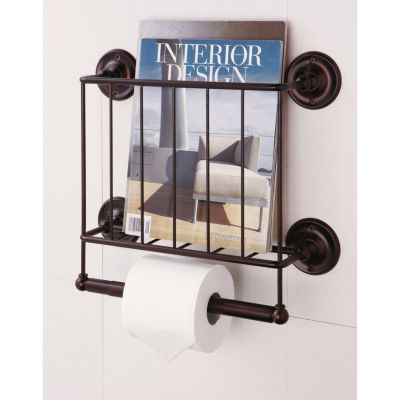 Organize It All Wall Mounting Magazine Rack (ORB)