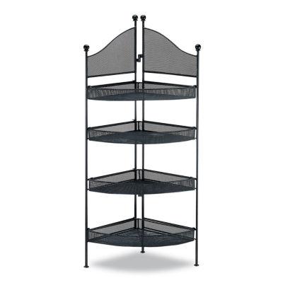 Organize It All 4 Shelf Corner Unit