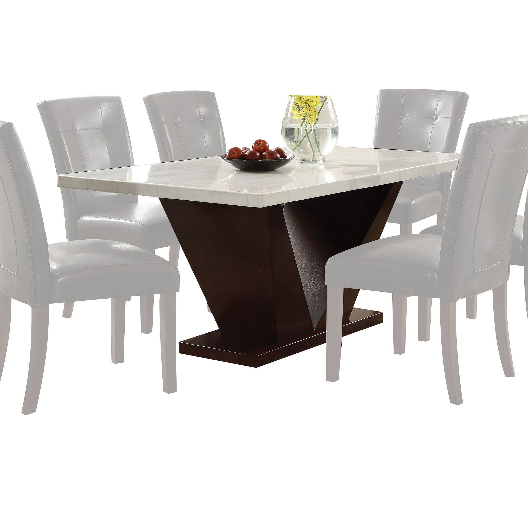 Forbes Marble-Top Dining Table