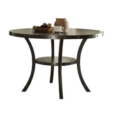 Hadas Wood-Top Dining Table
