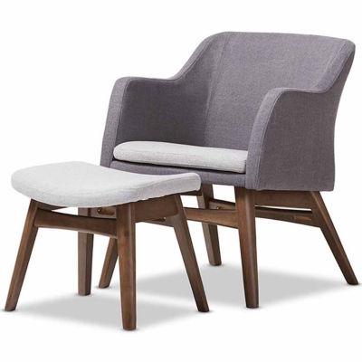 Baxton Studio Vera 2-pc. Seating Set