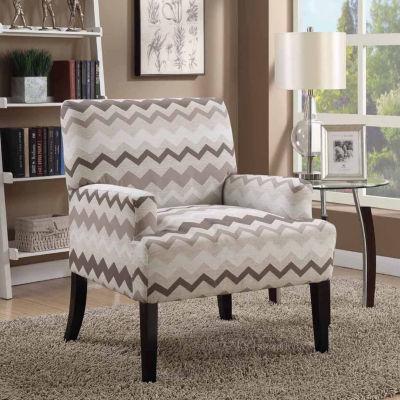 Madison Chevron Accent Arm Chair