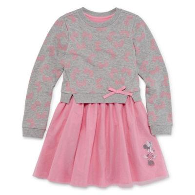 Disney Short Sleeve Frozen Skater Dress - Big Kid