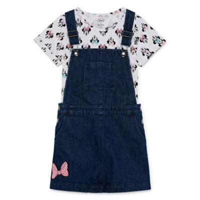 Disney Short Sleeve Minnie Mouse Dress Set - Girls