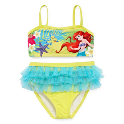 Disney Girls The Little Mermaid Tankini Set