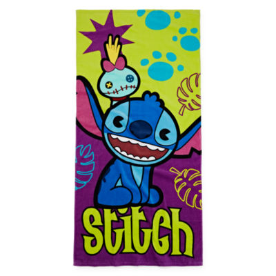 Disney Stitch Beach Towel