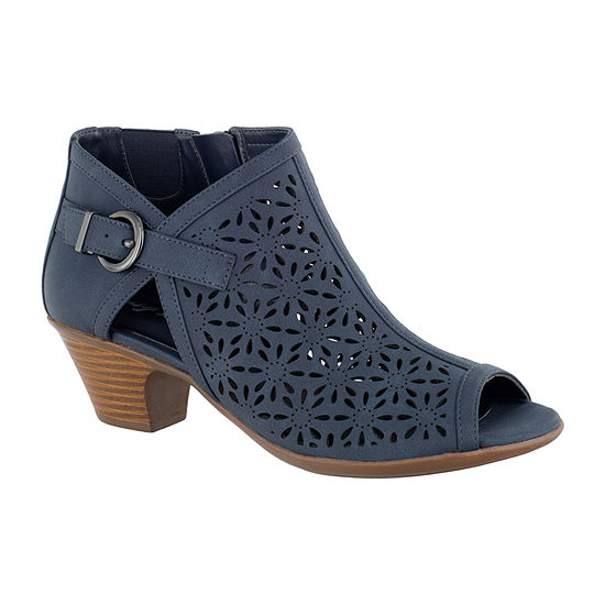 Easy Street Womens Dakota Heeled Sandals