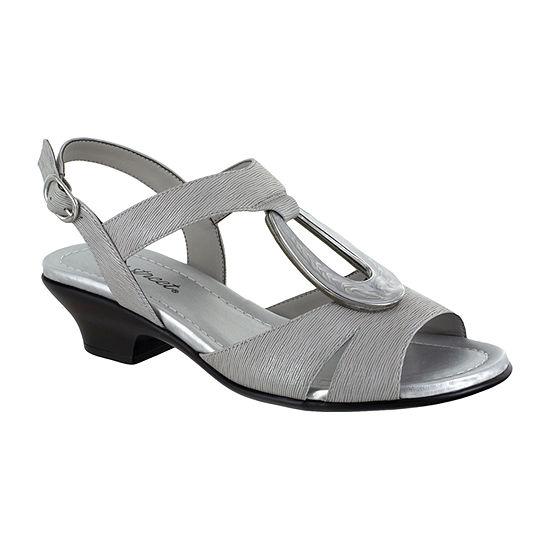 Easy Street Womens Phoenix Heeled Sandals