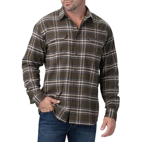 Dickies® FLEX Long Sleeve Flannel Shirt