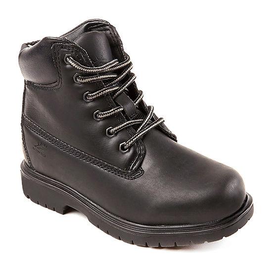 Deer Stags Little Kid/Big Kid Boys Waterproof Insulated Work Boots Block Heel Wide Width
