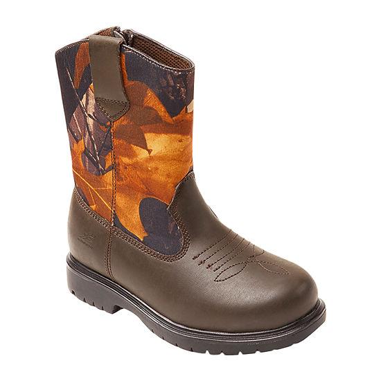 Deer Stags Little Kid/Big Kid Boys Tour Water Resistant Insulated Winter Boots Block Heel