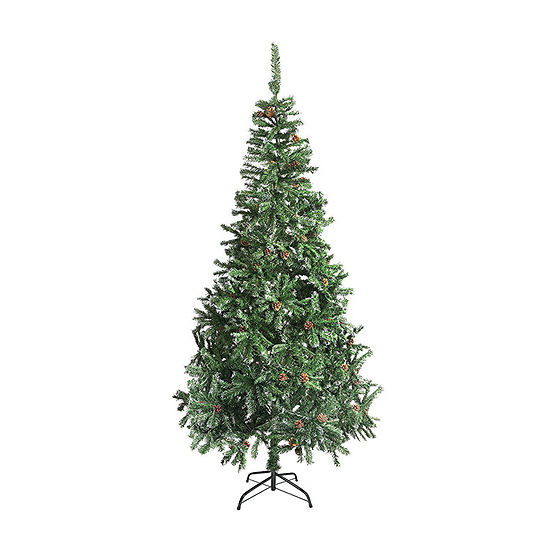 Jc Penney Christmas Trees: ALEKO Christmas Holiday Pine Tree With White Tips And Pine