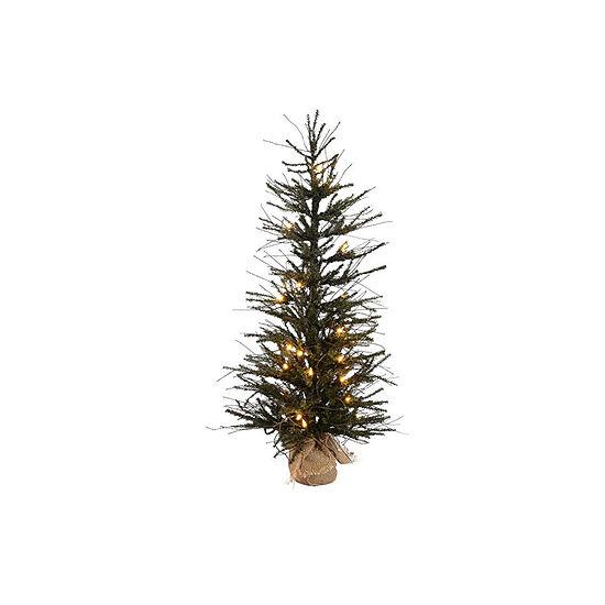 Jc Penney Christmas Trees: Vickerman Pre-Lit Christmas Tree, Color: Brown Green