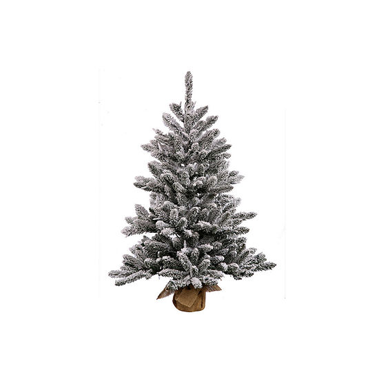 Jc Penney Christmas Trees: Vickerman Christmas Tree, Color: Flocked White