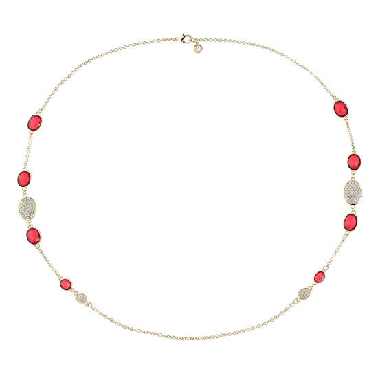 Gloria Vanderbilt 36 Inch Cable Round Strand Necklace