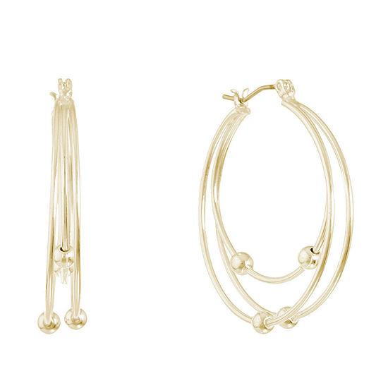 Gloria Vanderbilt 1 Pair Hoop Earrings